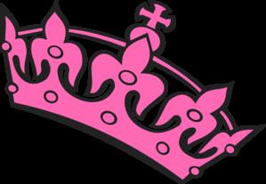 Pink Tilted Tiara PNG images