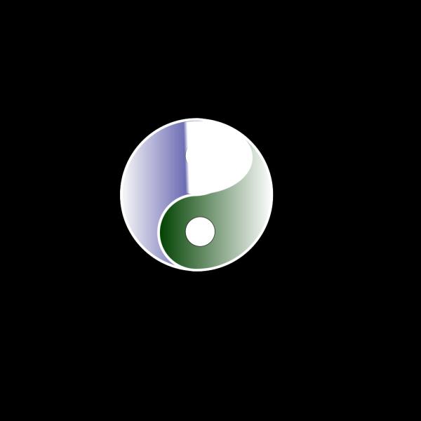 Yin Yang 18 PNG Clip art