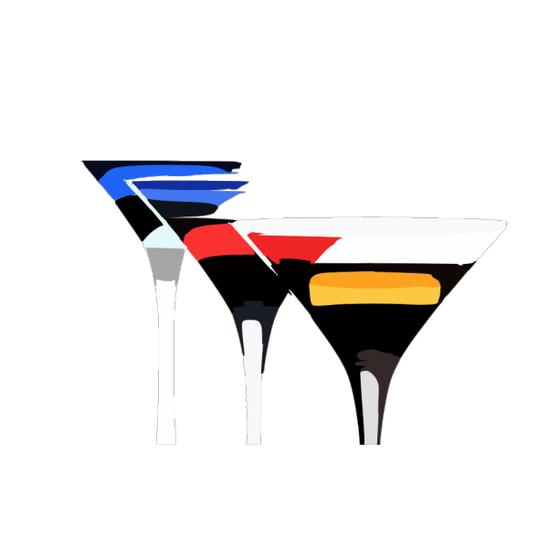 Cocktails Wallpaper PNG Clip art