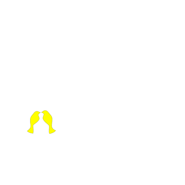 Passaros Em Amarelo PNG Clip art
