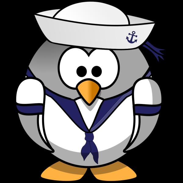 Sailor Penguin PNG Clip art