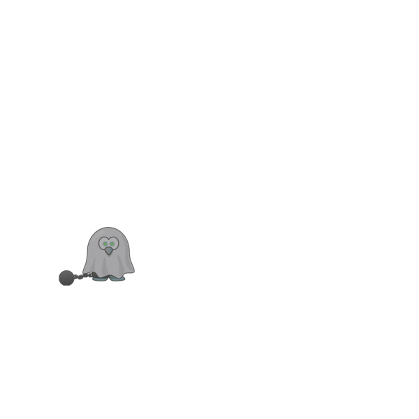 Shackled Ghost PNG images