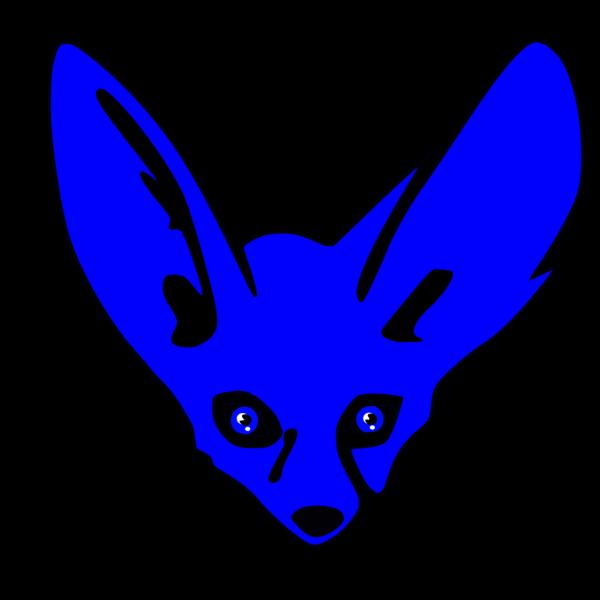 Blue Fennec PNG images