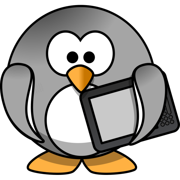 Ebook Penguin PNG Clip art