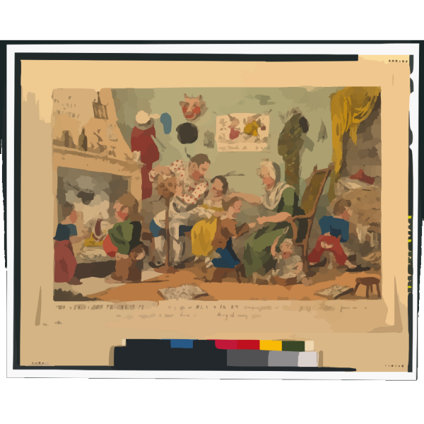 The Strollers Progress Plte 1st. A Peep At Black Jack S Origin Previous To His Going To Douay [...]  / Cruikshank, Invt. PNG Clip art