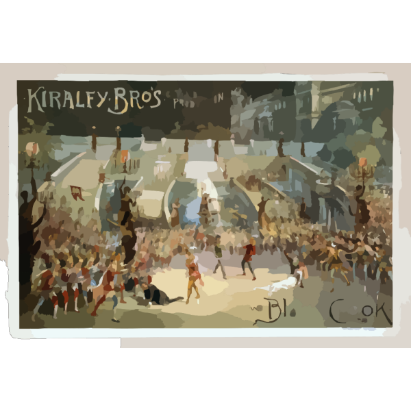 Kiralfy Bros Grand Production, Black Crook PNG Clip art