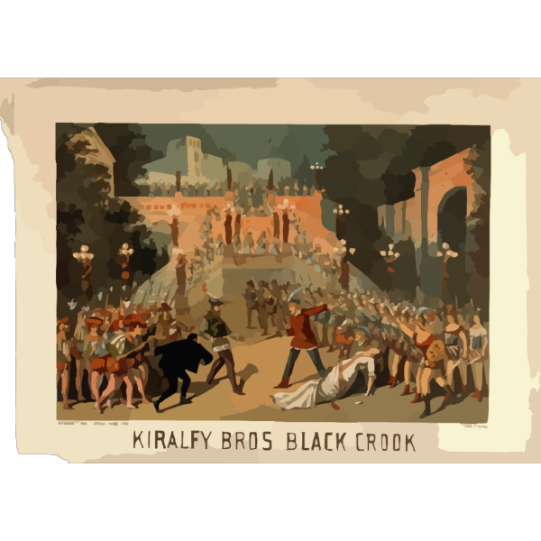 Kiralfy Bros  Black Crook  PNG images