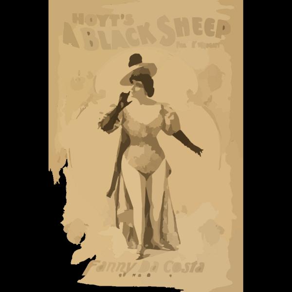 Hoyt S A Black Sheep PNG Clip art