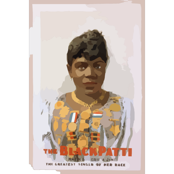 The Black Patti, Mme. M. Sissieretta Jones The Greatest Singer Of Her Race. PNG images