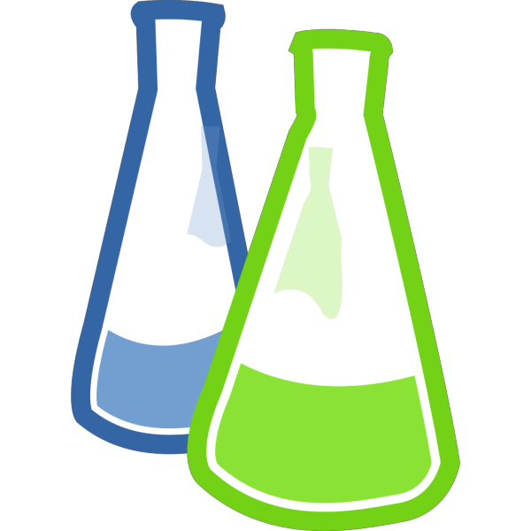 Chemistry Lab Flasks PNG images