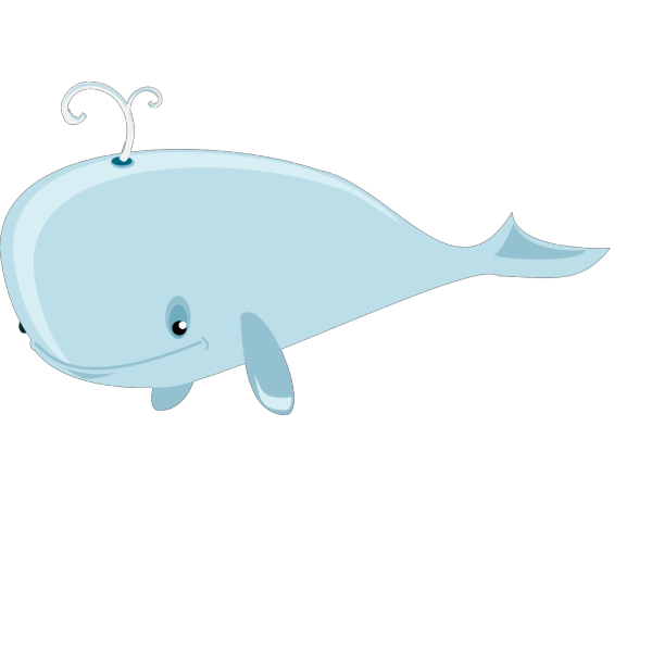 Cute Whale PNG images
