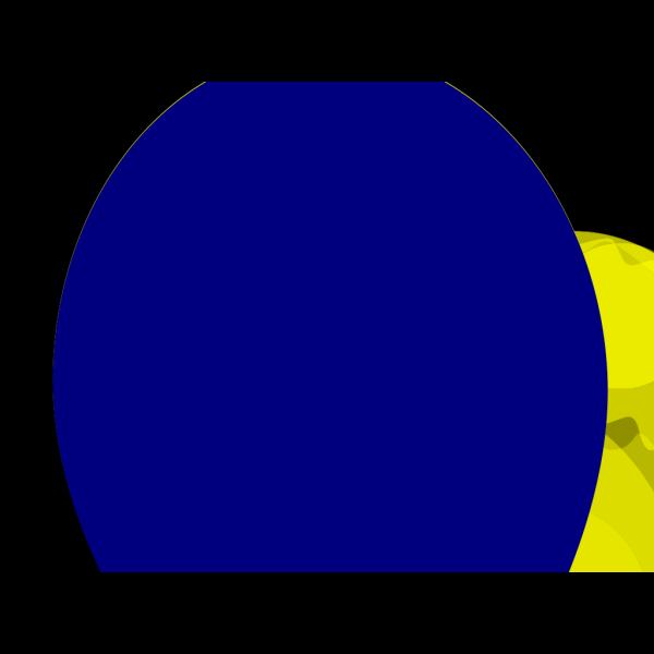 Straight Flat Blue Balloon PNG Clip art