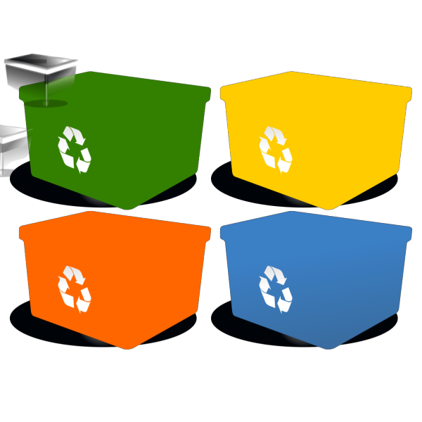 Recycling Box PNG icons