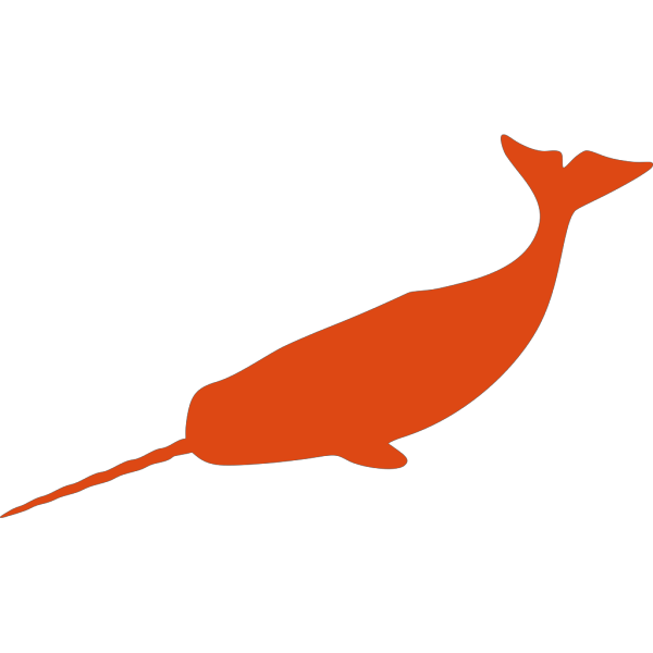 Large Narwhal PNG Clip art