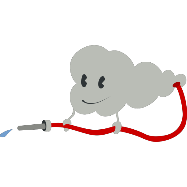 Cute Cloud PNG Clip art