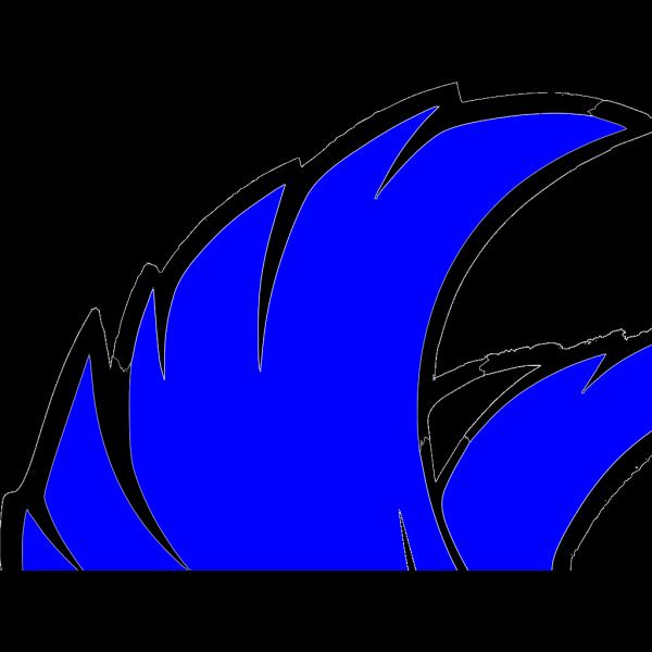 Falcon B/w PNG Clip art