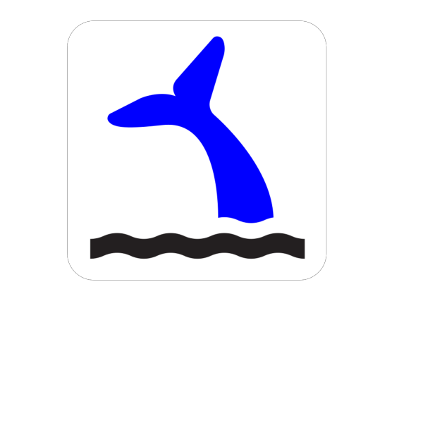 Blue Whale Tail PNG images