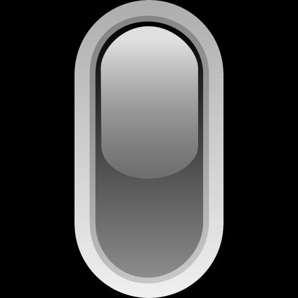 Led Rounded V Black PNG Clip art
