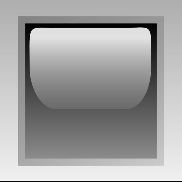 Led Square Black PNG Clip art