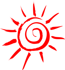 Summer Shining Sun PNG icons