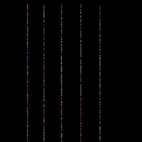 Standard Color List PNG Clip art