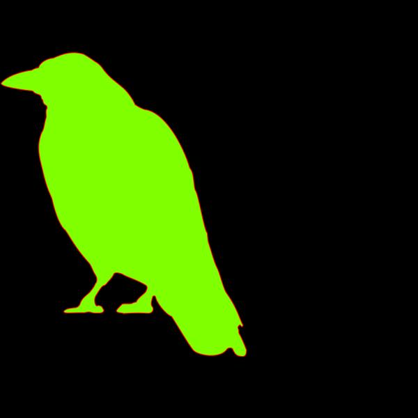 Green Bird PNG Clip art