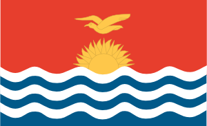 Flag Of Kiribati PNG Clip art