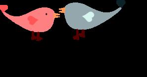 Love Birds PNG Clip art
