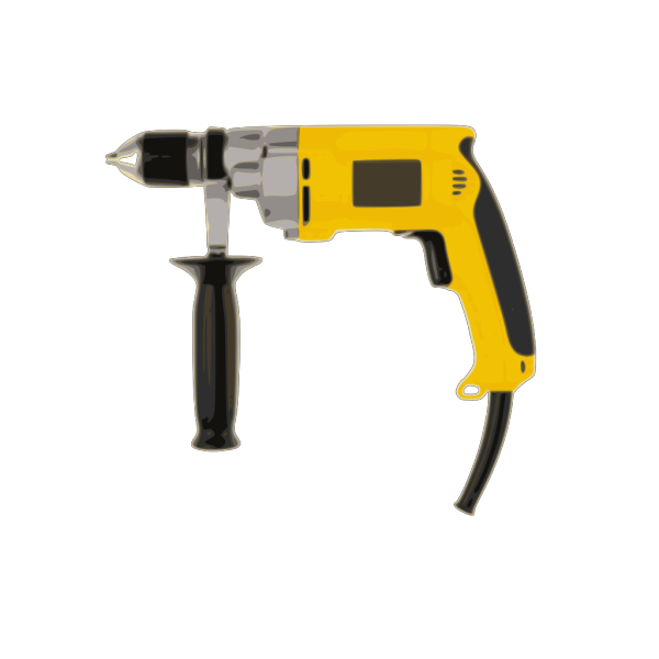 Electric Battery Drill PNG Clip art