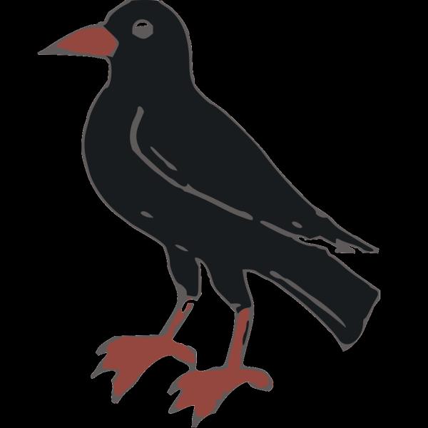 Black Crow PNG Clip art
