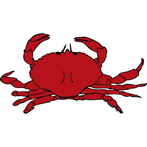 Red Crab PNG images