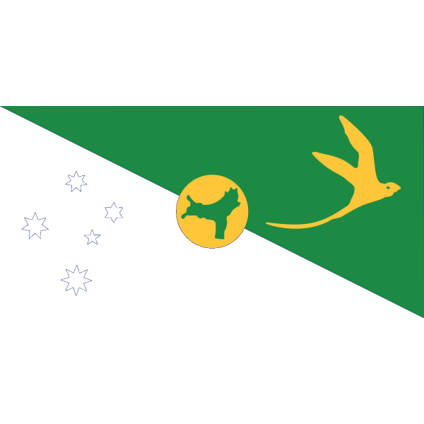 Flag Of The Territory Of Christmas Island PNG Clip art