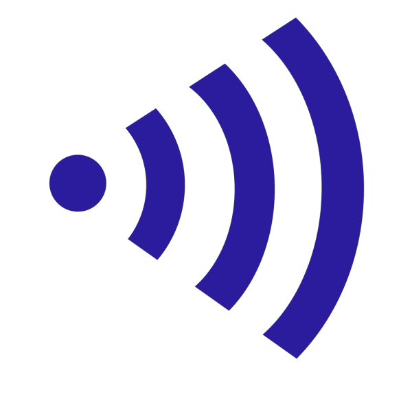 Plain wifi right clipart