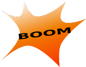 Blue Boomerang PNG Clip art