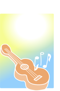 Rock Guitar clipart