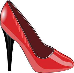 Red Shoe PNG Clip art