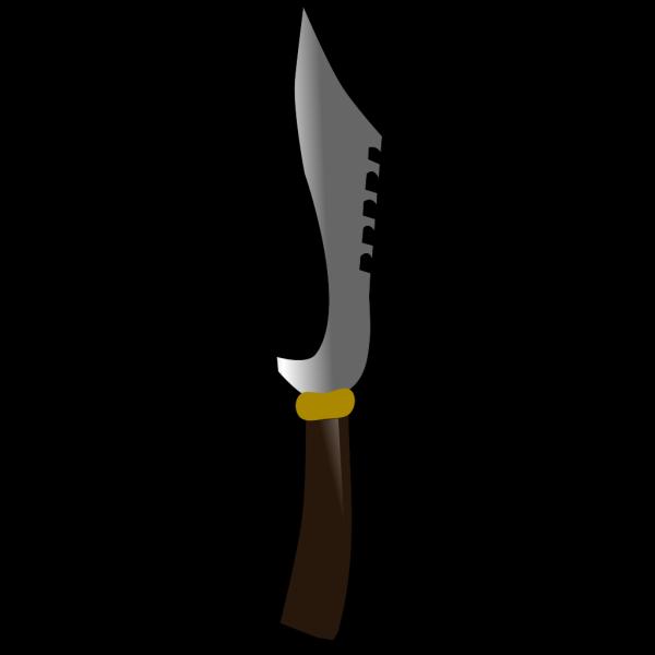 Kujang Knife PNG Clip art