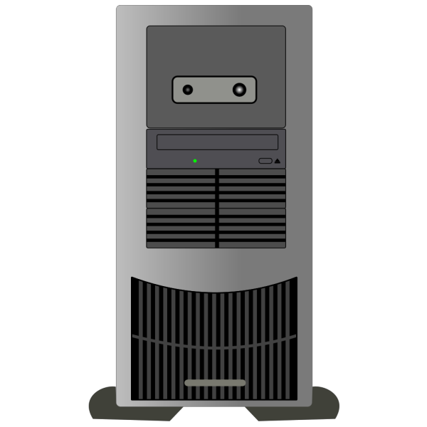 Computer Tower PNG Clip art