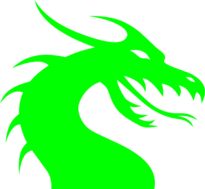 Green Dragon PNG Clip art