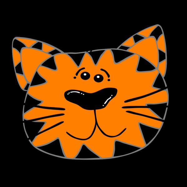 Cat Face PNG Clip art
