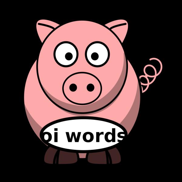 Oi Pig PNG Clip art