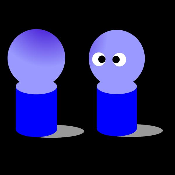 Dolls Blue PNG Clip art