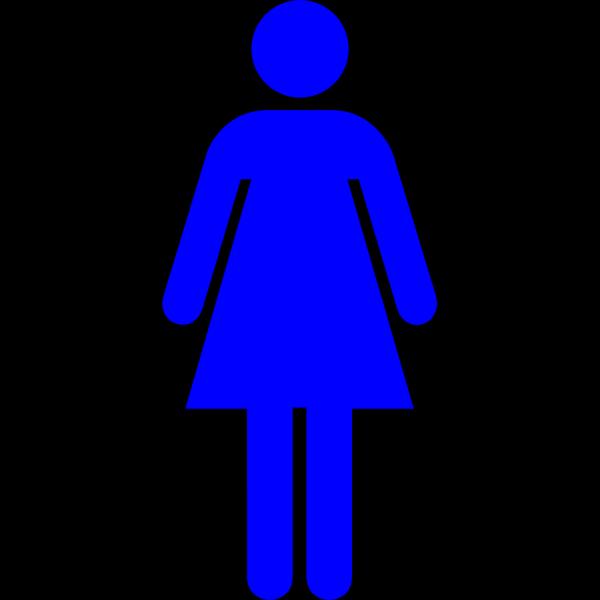 Blue Women PNG Clip art