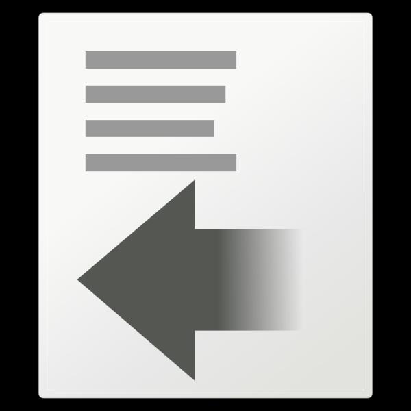 Format Indent Less PNG Clip art