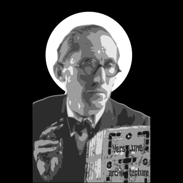 Saint Le Corbusier PNG Clip art