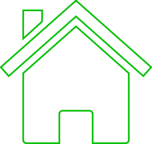 Black And White House Icon PNG image