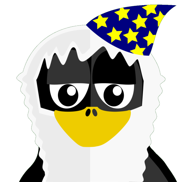 Wizard Penguin PNG images