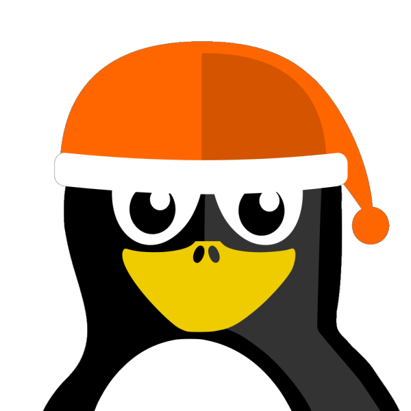 Penguin Wearing Winter Hat PNG images