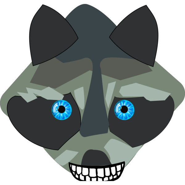 Raccon Closed Mouth PNG images