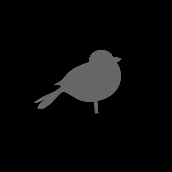 Chubby Bird PNG Clip art